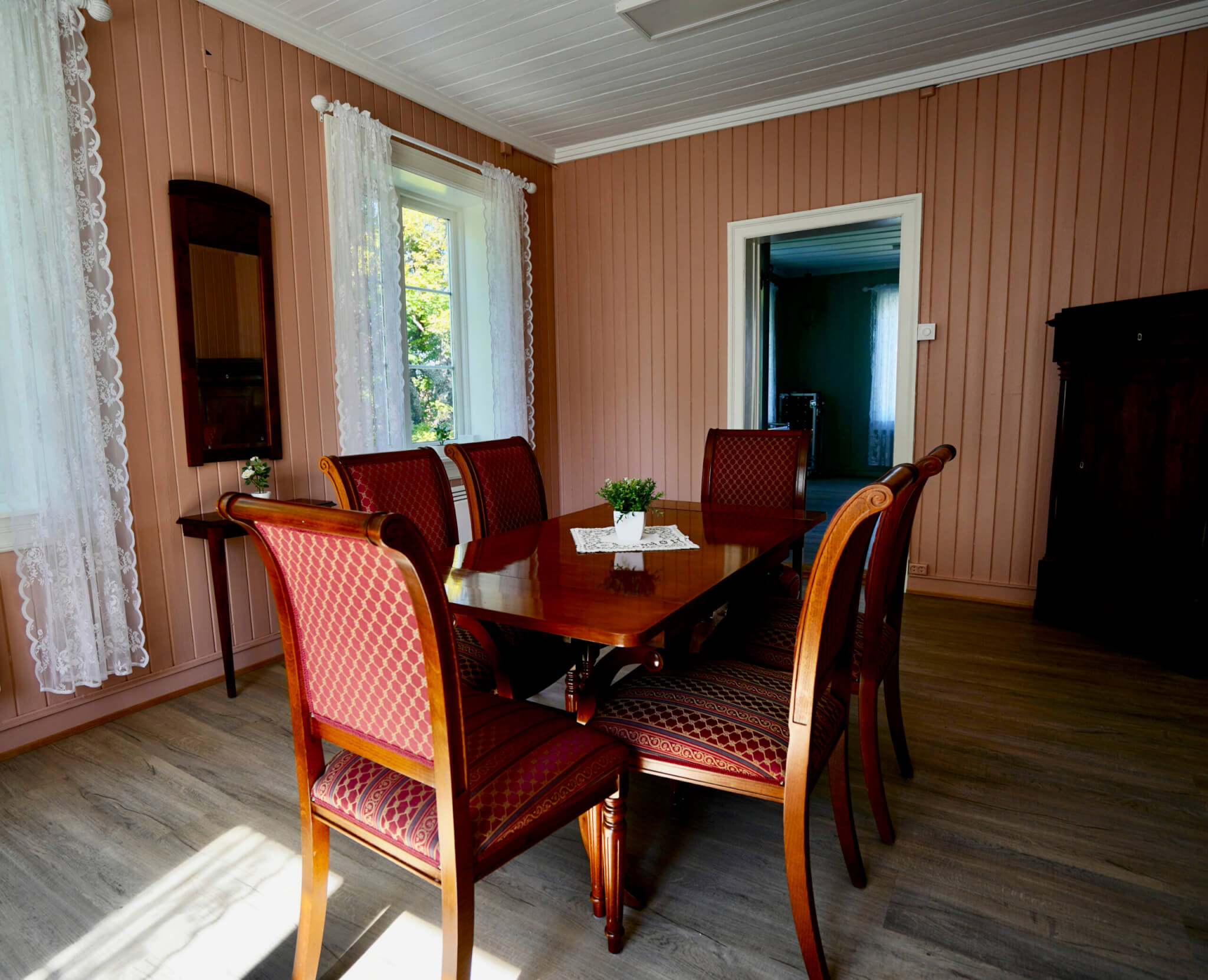 Kammerset er et eksklusivt lokal form kan benyttes i tillegg til Bjørnholtet eller bakkerud eller for seg selv